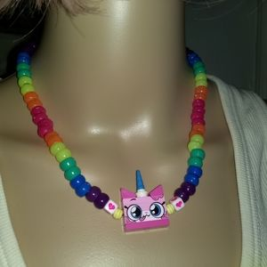 UNIKITTY RAVE NECKLACE  Lego Kandi Jewelry Cartoon